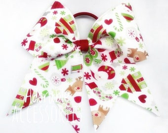 Large cheerstyle bows