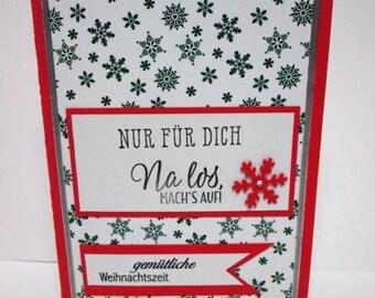 Gift Box book, Christmas, Money gift