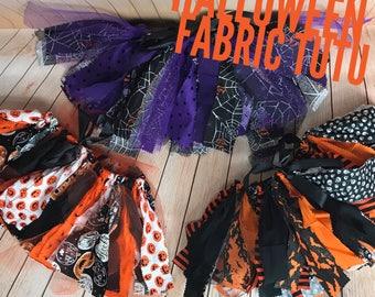 Halloween Fabric Tutu