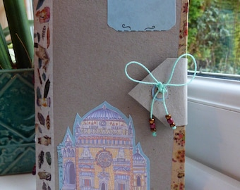 Handbound Small Creative Journal – Inspired by Milan Illustrations