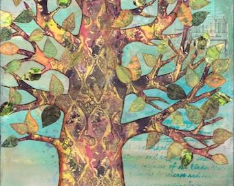 Harlequin Tree ORIGINAL artwork