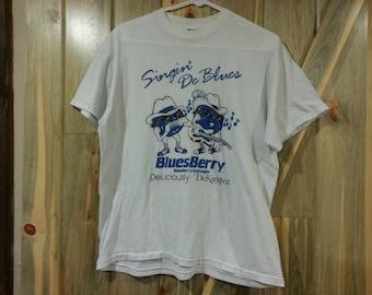 80s Blueberry Schnapps Blues Shirt!