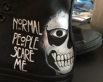 American Horror Story Custom Shoes