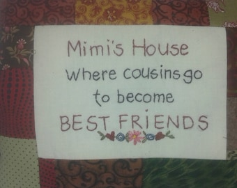 Mimi's House where cousins go to become best friends