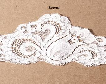 Bouquet Add-On: Limited Quantity 'Leena' Lace Wrap