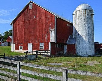 Red Barn in VA