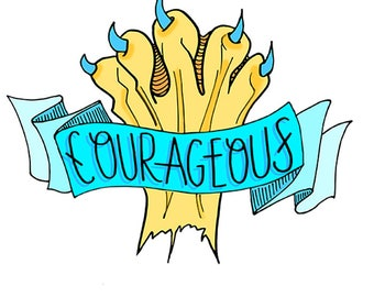 Courageous Lion Paw