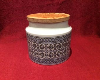 Hornsea Tapestry Storage Jar with Lid