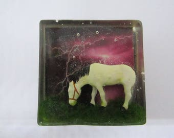 Horse In A Storm Magnet