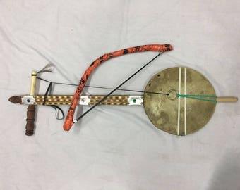 RIBAB AMAZIGHI Musical instrument handmade  Wooden Crafts Handmade