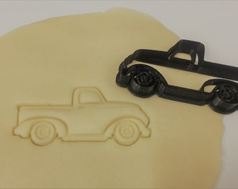 Vintage Pickup Truck Cookie Cutter