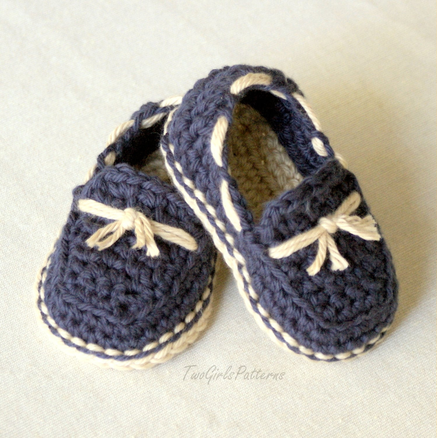 Crochet Pattern Baby boy Lil loafers super pattern