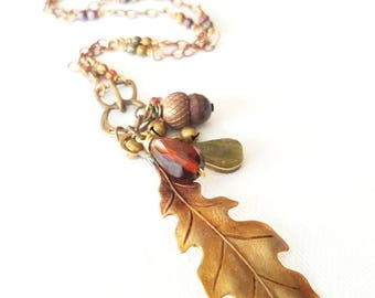 Touch of Fall Necklace