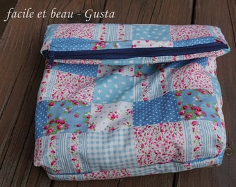 Make-up bag patchwork
