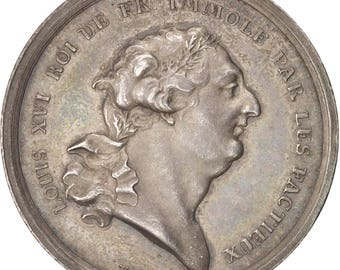 france token the french revolution 1793 loos ms(60-62) silver