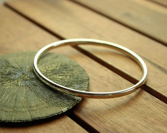 """Silver bangle 