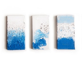 """Ocean Surf Triptych 