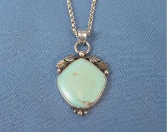 Green Turquoise Pendant