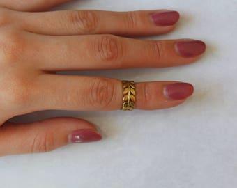 Flower rings~leaves rings~leaf ring~flower ring~adjustable rings~dainty jewelry~stackable rings~minimal jewelry~flowers jewelry~summer ring