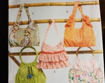 Butterick B4822 uncut handbags pattern