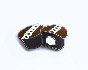 Chocolaty Cupcake Pin