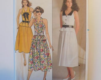 kathryn conover Butterick  Women's Sleeveless Dress  Sewing Pattern 3313 Womens Classic Fashion Dress Misses Size 6-8-10