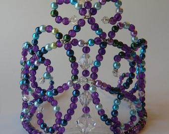 Tall Purple Crown