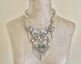Isaac - Tribal Statement Necklace