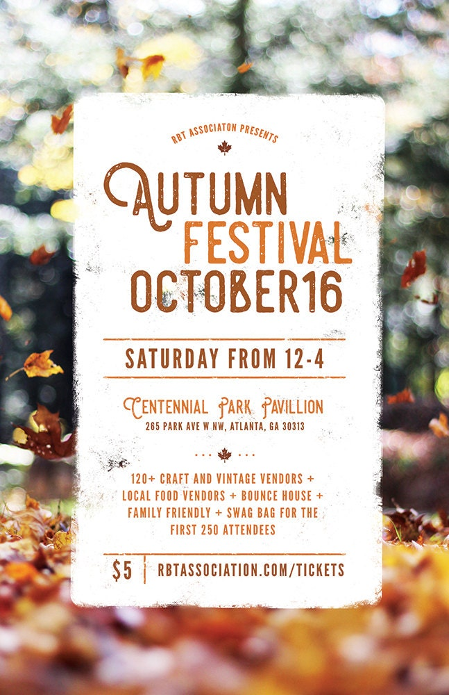 Diy Printable Fall Festival Flyer Template Word Flyer Templates