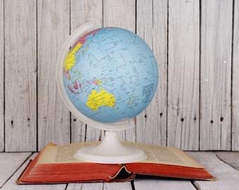 Globes and maps etsy vintage globe small world gumiabroncs Choice Image