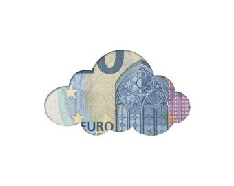 Money gift card cloud