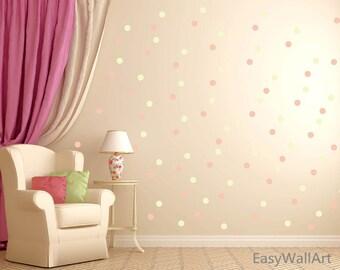 More colors. Polka Dot Wall Decal ... & Polka dot wall decal | Etsy