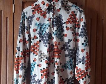 1970s Vintage floral shirt
