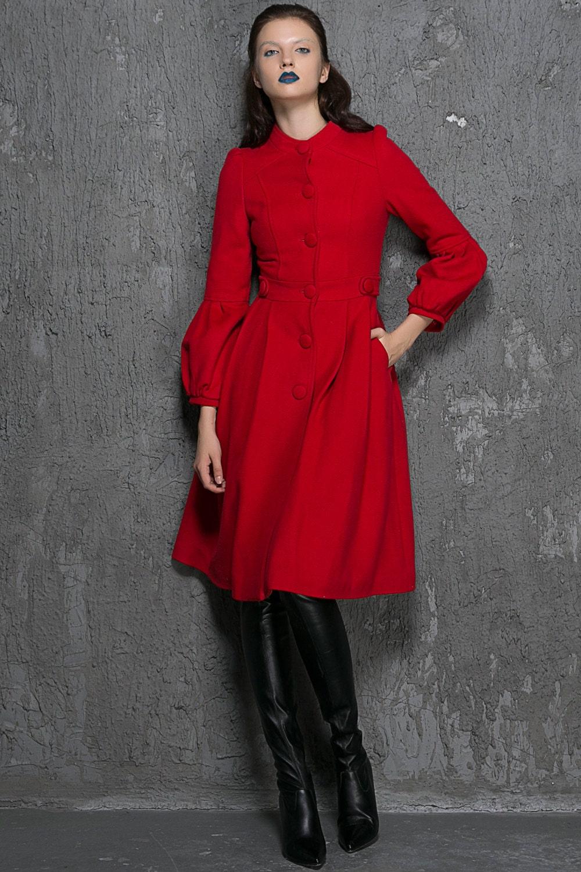 Short Wool Dresses