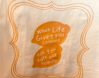 Flour sack tea towel