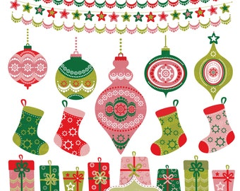 Christmas Trees And Ornaments Clipart Christmas Tree Ornaments Clipart