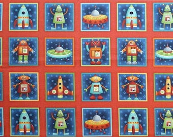 SPACE ALIENS #870 by Andover Fabrics By the Yard