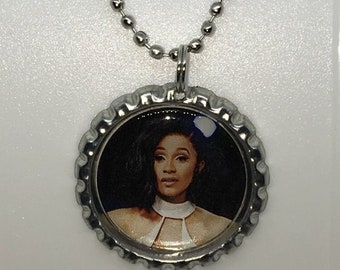 Cardi B Jewelry Necklace Pendant