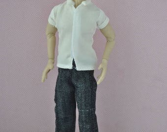 Handmade Clothes for 1/12 male dolls Zjakazumi- PANTS
