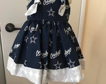 NFL Dallas Cowboys Boutique Dress Size 2T 3T 4T NEW