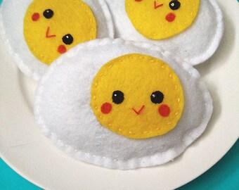 Catnip Eggs - Felt Cat Toys