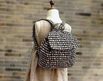 Free Shipping Handmade Kids Backpack Kindergarten School Bag - little owl