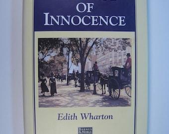 The Age of Innocence, Edith Wharton, 1st Edition thus/1st Printing, Near Fine/Very Good+ 1996 Hardcover/DJ