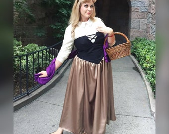Inspired by Briar Rose Disney Princess costume cosplay (adult)