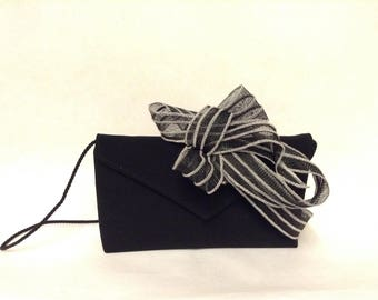Headband black wedding adjustable sisal to the head