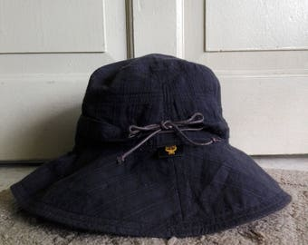 MCM Bucket Hat in Black color