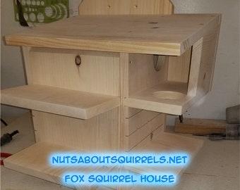 Fox Squirrel House