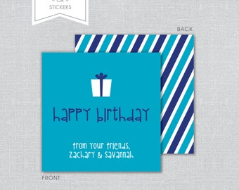 Birthday Gift Tags ~OR~ Stickers
