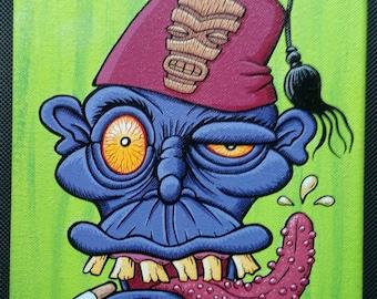 Fez Head Zombie