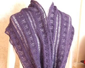 Flutter Cowl PDF Hand Knitting Pattern